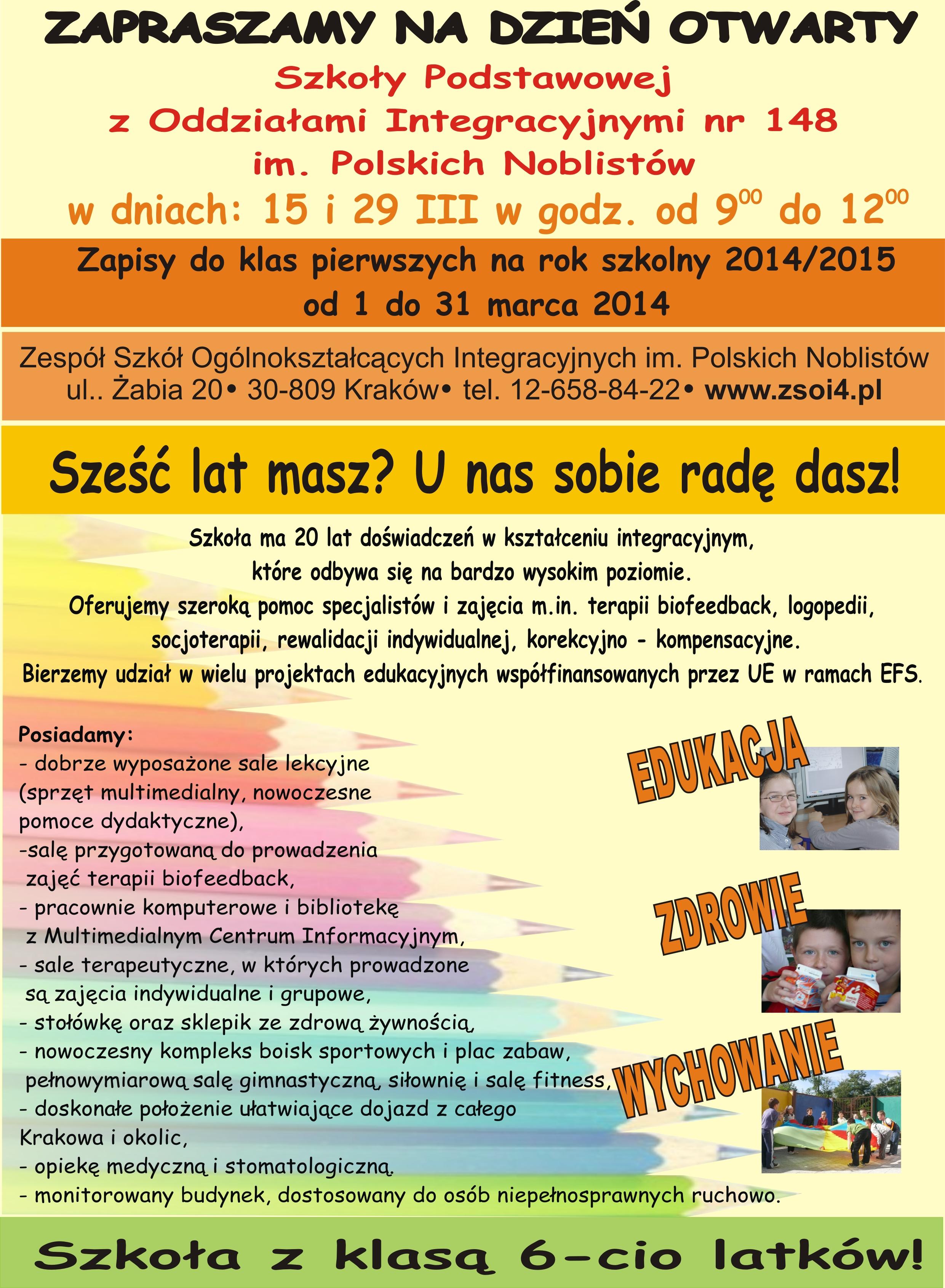 Plakat Sp 2014 Dzielnica Xii Bieżanów Prokocim Miasta Krakowa