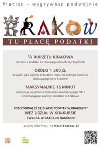 Płać podatki w Krakowie