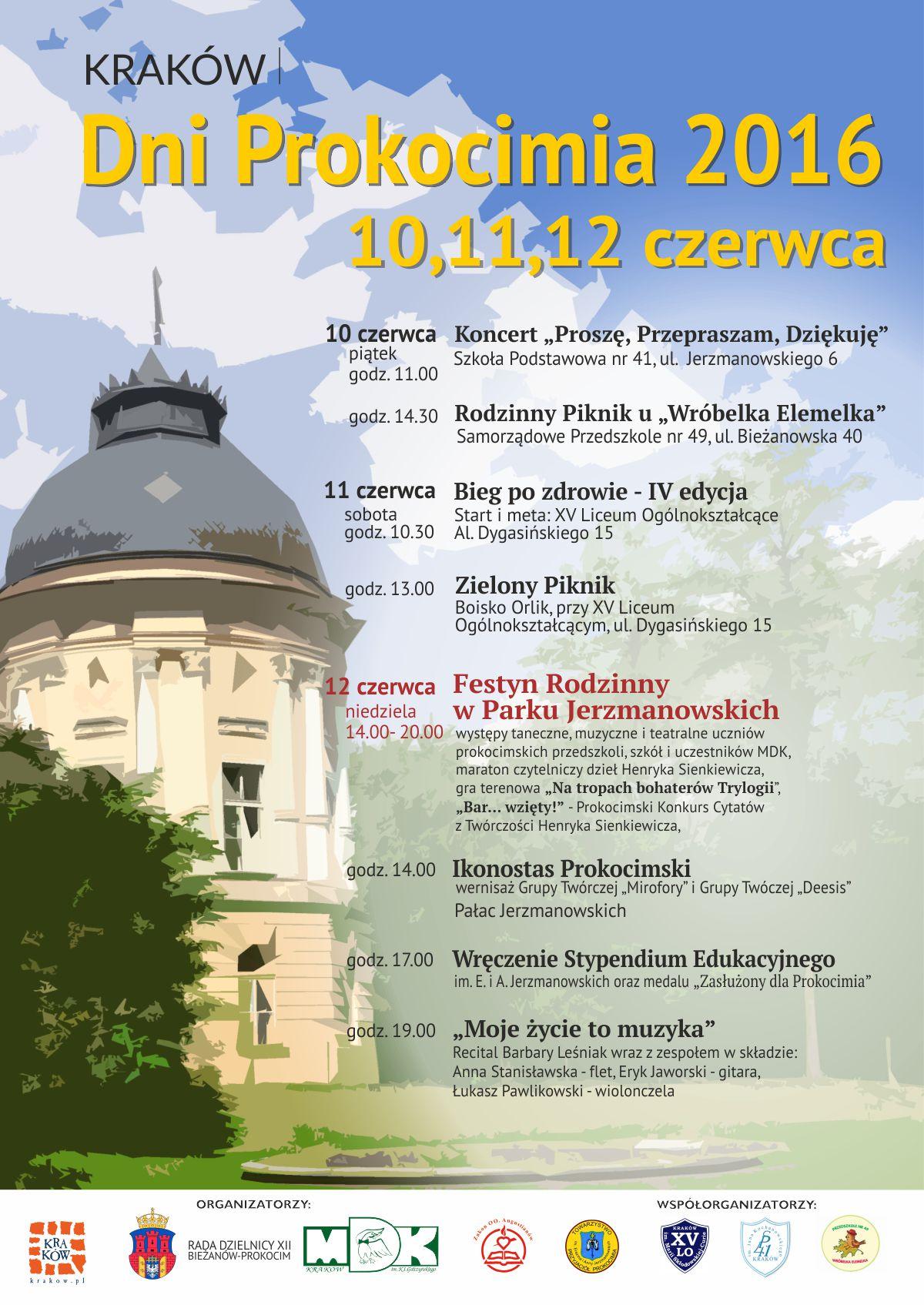 Plakat Dni Prokocimia 2016