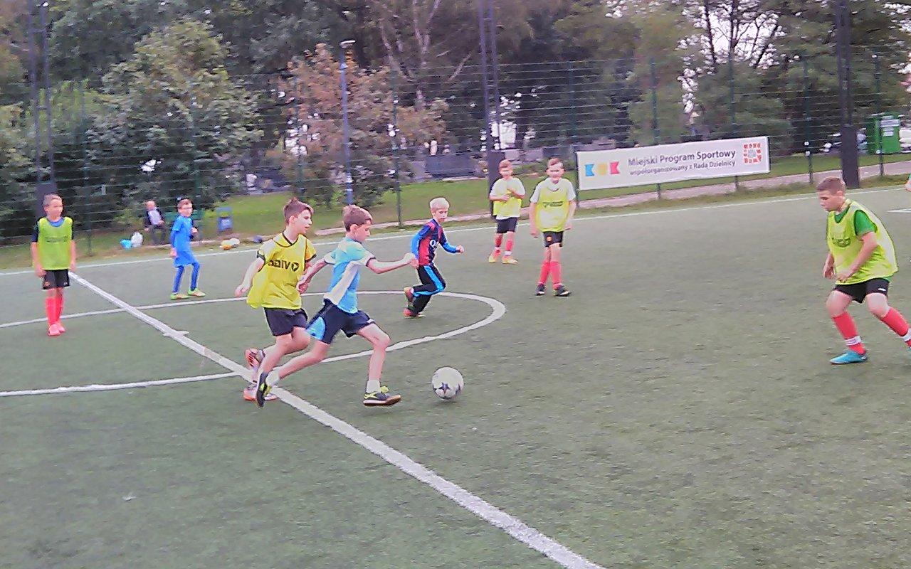 Turniej piłkarski w Nowym Bieżanowie